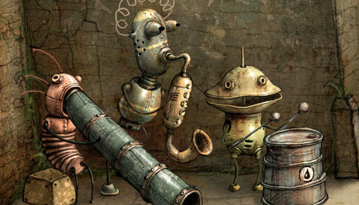 Images: courtesy of Amanita Design http://machinarium.net all rights reserved